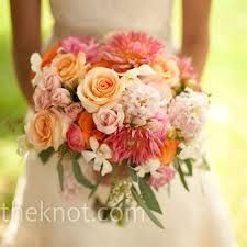 C. Too big of a bouquet but like the textures, maybe a little softer pink but like the colors