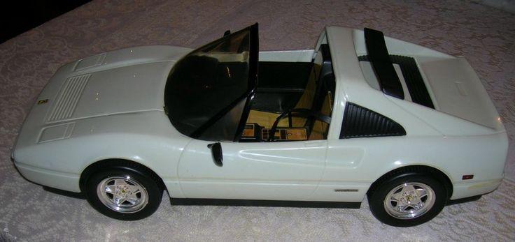 Barbie Car Toy White Ferrari 1986-87 Mattel, Inc.  My ALL TIME favorite Barbie car! It was way cooler than my pink Corvette.