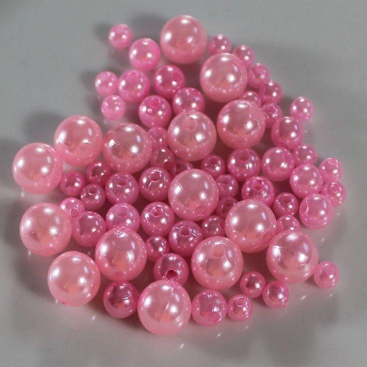 Smart perle der pynter i alle dekorationer. Drys dem på et dekorations fad, ellers sæt dem på tråd og drej dem rundt om en vase eller buket. Der er hul igennem perlen.