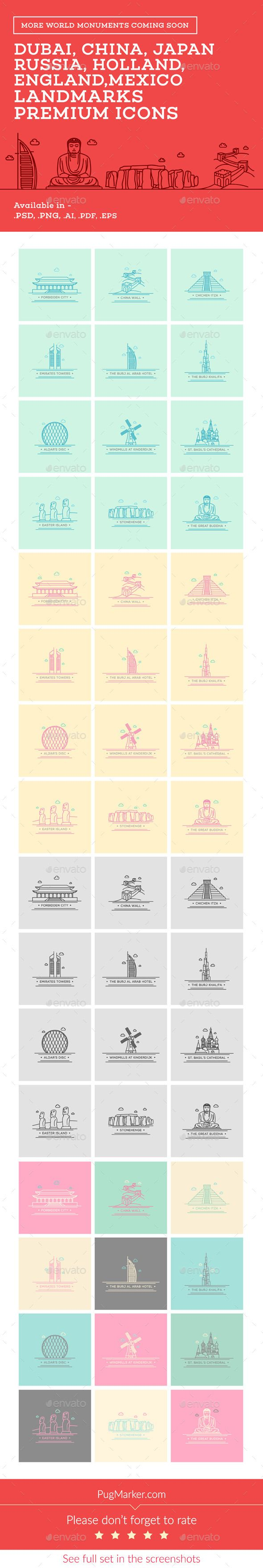 World Landmark Icons Vol 2 29