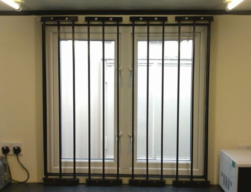 Modular Window Security Grille Railing Bars 500 800