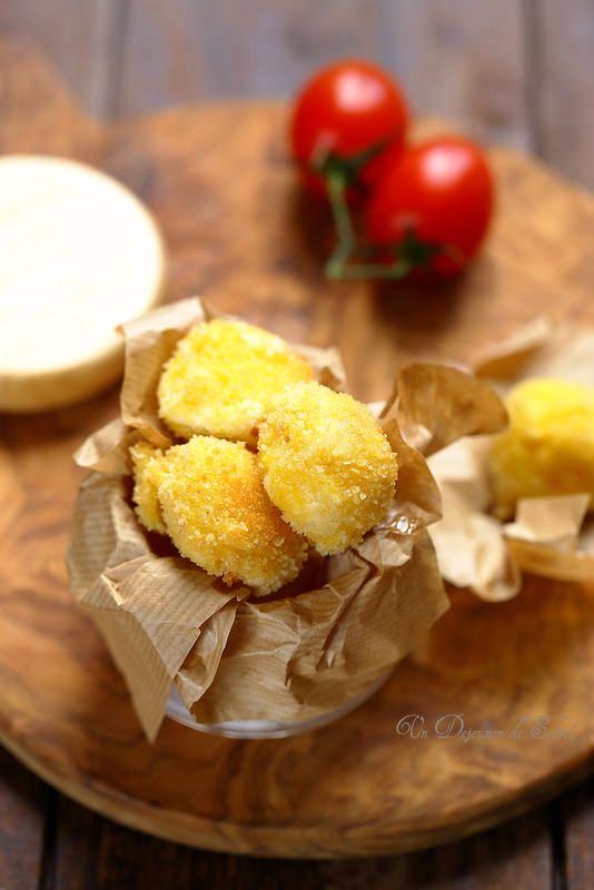 Un dejeuner de soleil: Croquettes de mozzarella