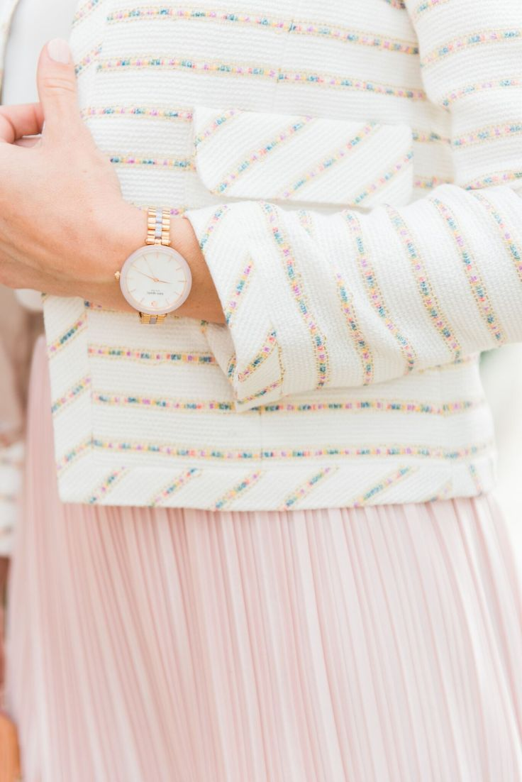 @palmbeachlately with the kate spade new york holland watch.