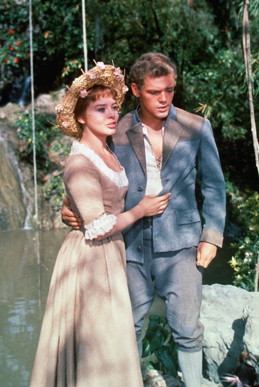 Janet Munro & James MacArthur in Swiss Family Robinson
