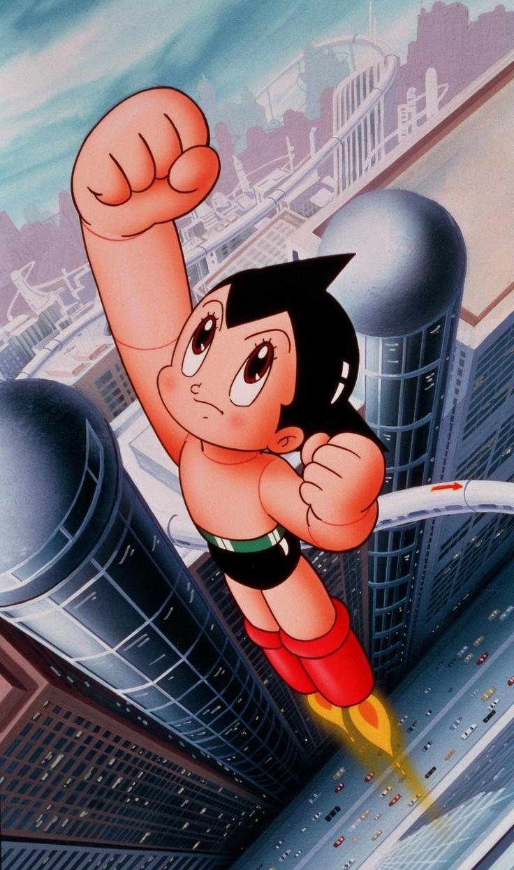 Astro Boy kicked butt!