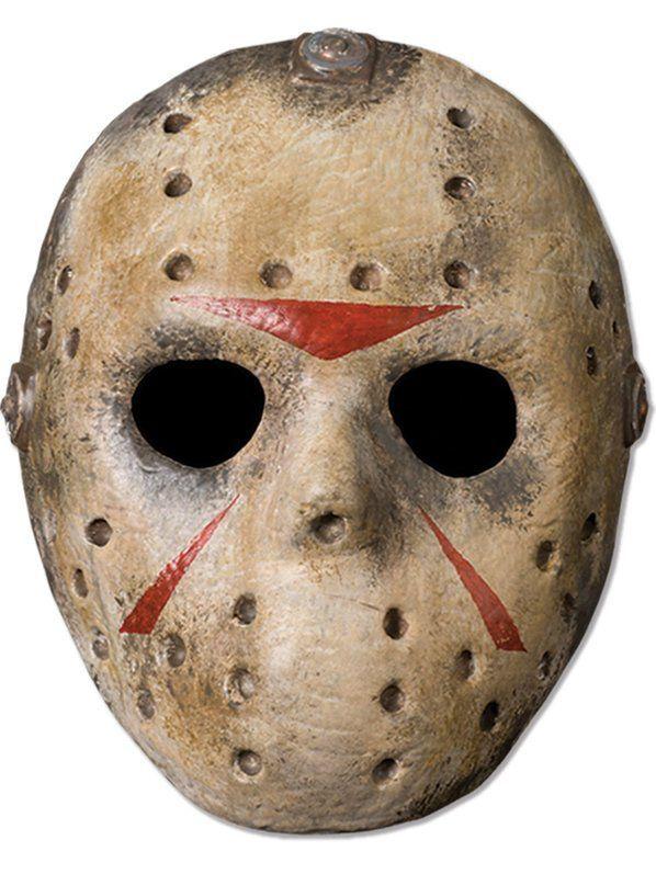 Check Out Jason Mask 2018 Costume Mask Costume Supercenter From Costume Super Center Jason Mask Hockey Mask Jason Voorhees Hockey Mask