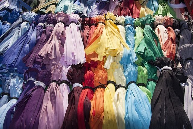 Flea Market, Zips, Colorful, Color, Selection, Zip