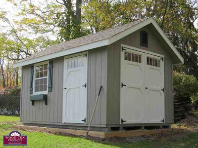 Shed idea: Wood-Tex Garden Shed (Storage Shed)