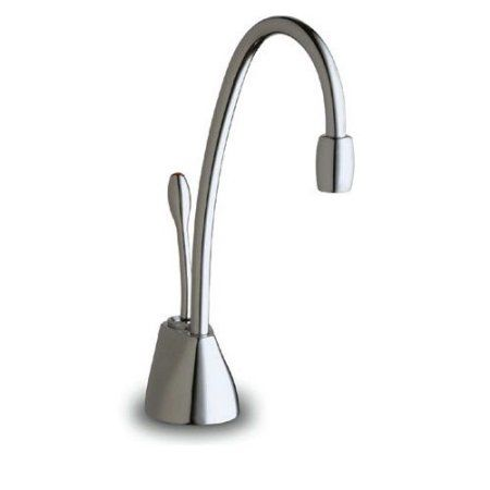 InSinkErator F-GN1100C Chrome Indulge Contemporary Hot Water Dispenser, Silver