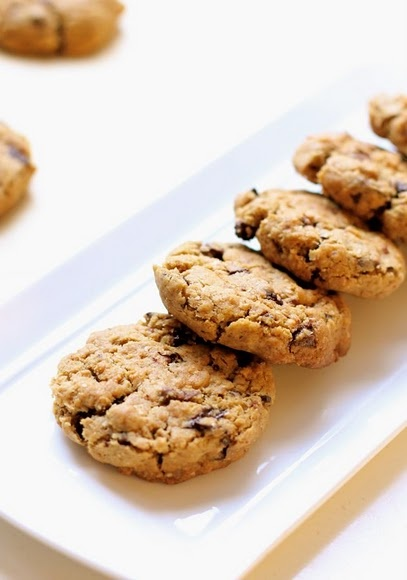 Whole Wheat Chocolate Chip Cookies...except use 1 cup Splenda, 2 cups ...