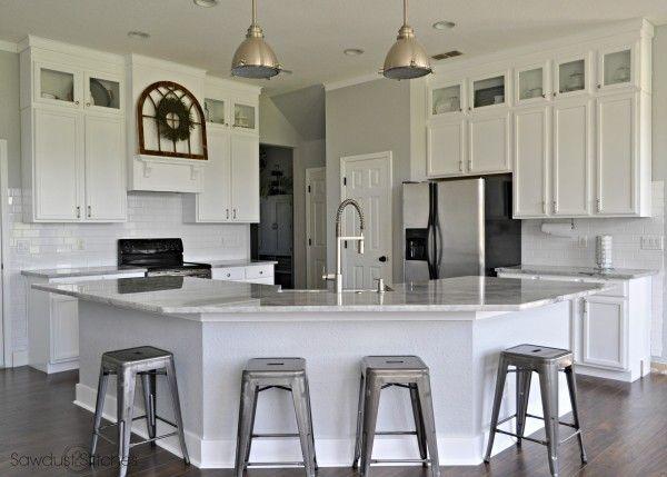 2 Tone Grey Kitchen Cabinets
