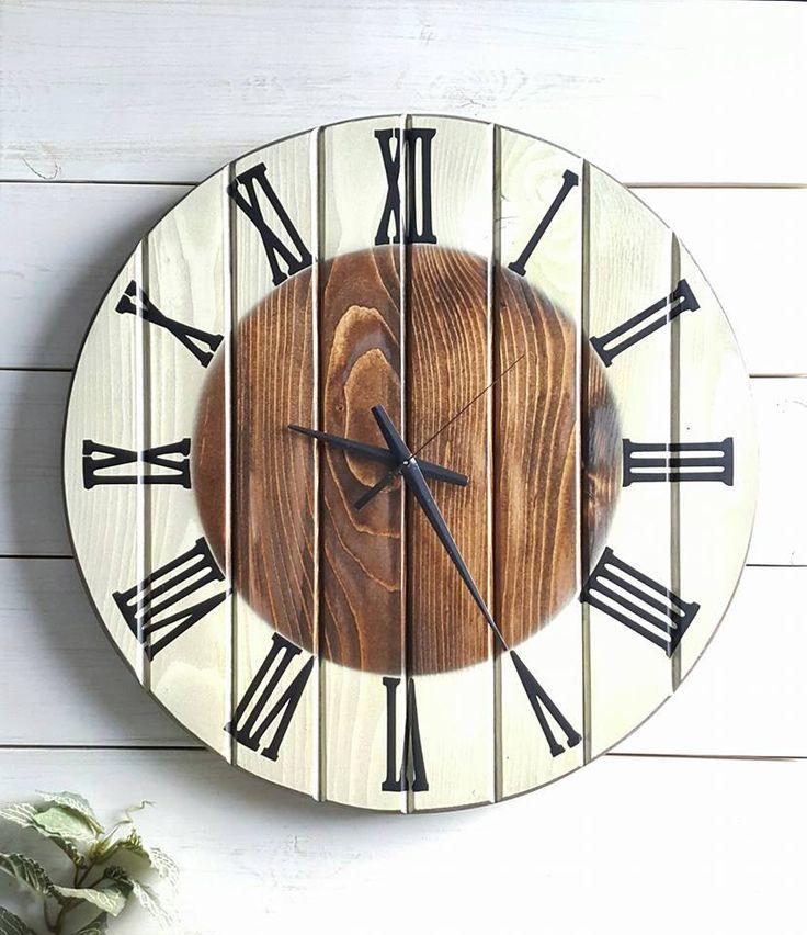 Best 25+ Wood clocks ideas on Pinterest   Pallet clock ...