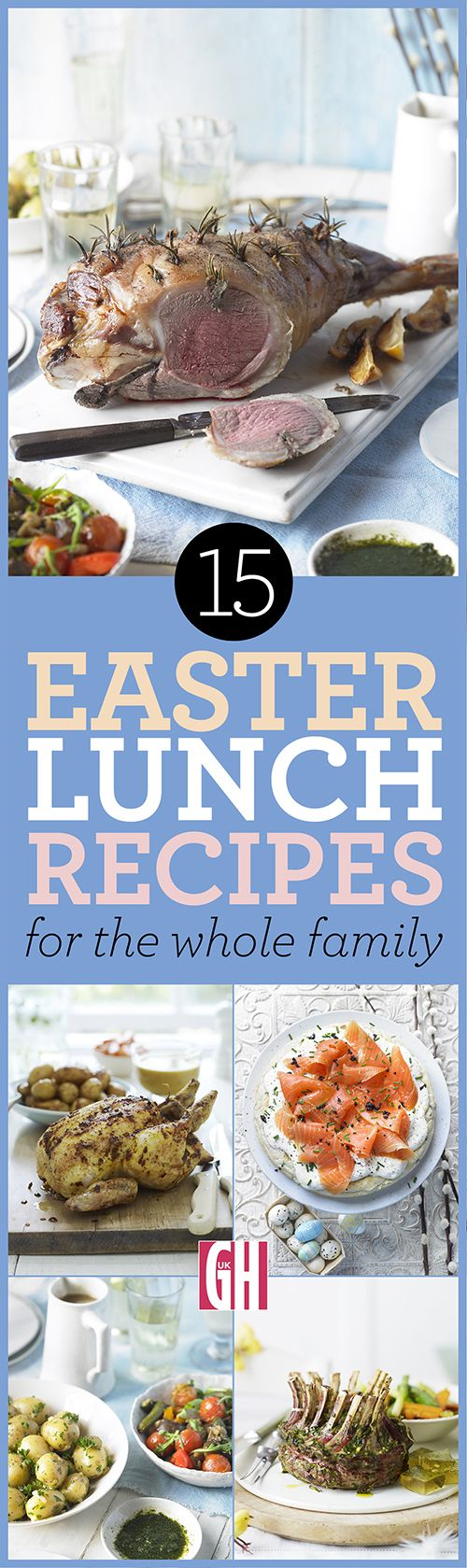Whether you're looking for a classic roast leg of lamb with a side of Spring vegetables, minted pesto and a light potato salad, or something slightly more alternative, one of these Easter recipes is sure to catch your eye.