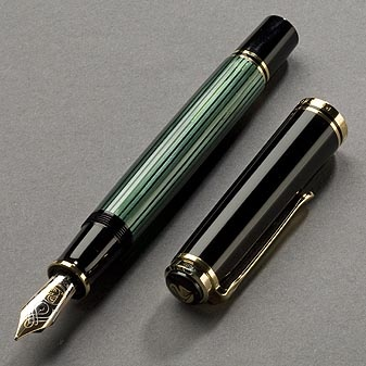 As long as you don't loose things easily then this fountain pen is for you.