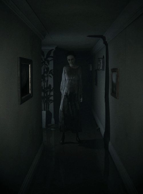 "Silent Hills P.T - Lisa ""Gouge it out!"" - ""If your right eye causes you to stumble, gouge it out and throw it away. It is better for you to lose one part of your body than for your whole body to be thrown into hell."" (Matt. 5:29, Mark 9:47)"