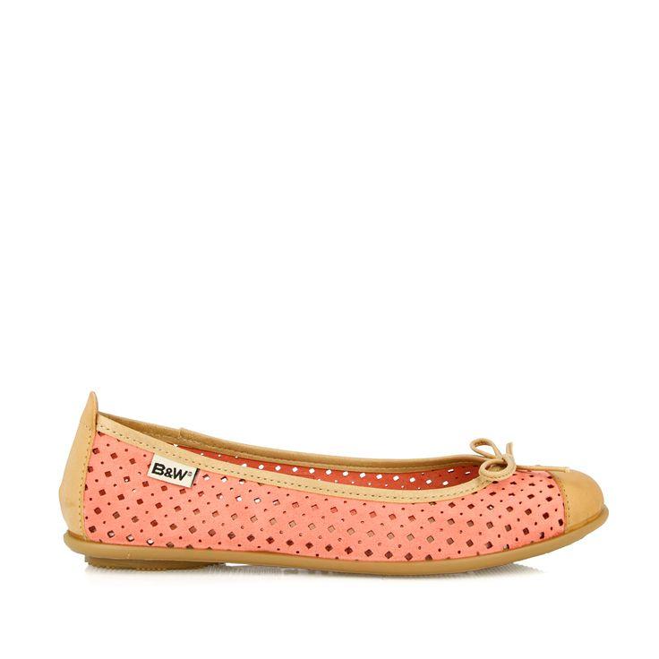 Bailarina color rosa palo. Calzado de mujer en la Tienda Online Break&Walk.