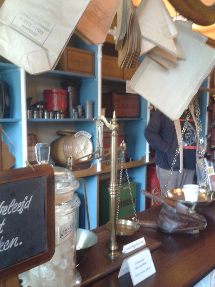 winkel in oude style
