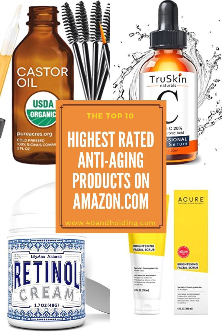 Top Rated Anti Aging Products Women Swear By On Amazon Top Rated Anti Aging Products Anti Aging Skin Products Aging Skin Care