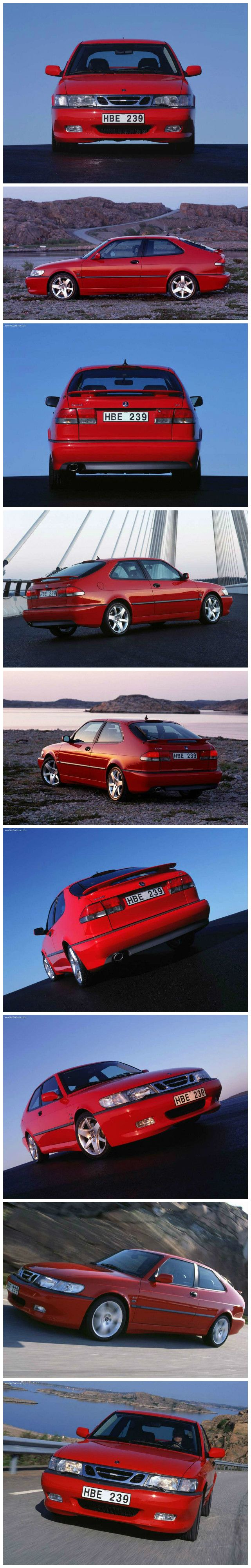 The saab 9 3 1999 2003 is an entry level luxury compact