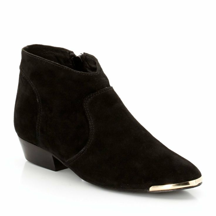 Boots La Redoute Création et son bout métal doré > http://www.laredoute.fr/vente-boots-plates.aspx?productid=324429255 #boots #chaussures #mode #laredoute