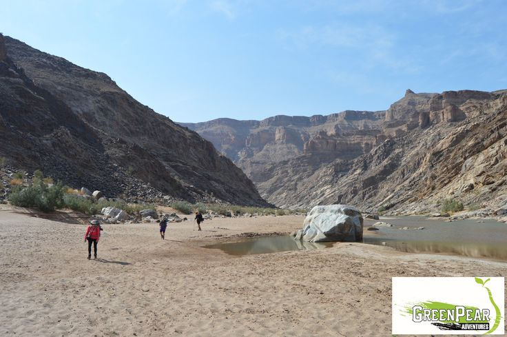 Fish River Canyon hiking trail, Namibia
