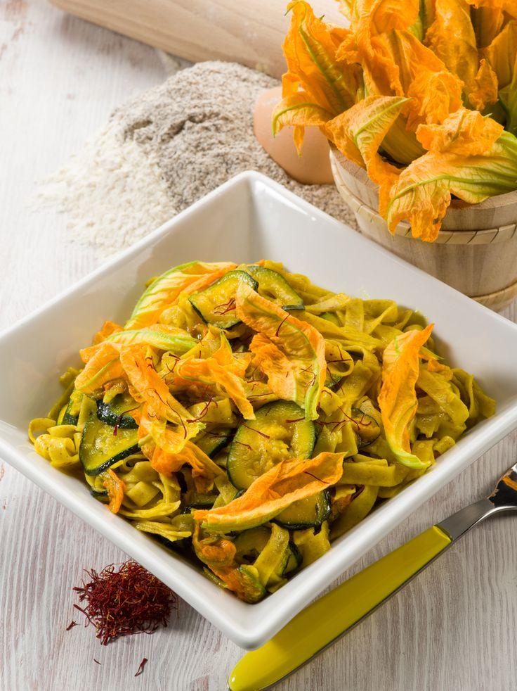 Tagliatelle ai fiori di zucchina - Agribologna