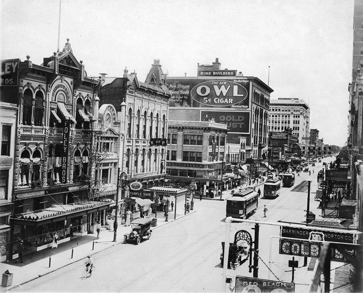 Downtown Houston 1910 Google Search Houston