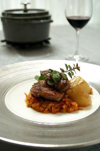鶏もも肉のロースト 色々野菜のイタリアンソース添え   美肌レシピ