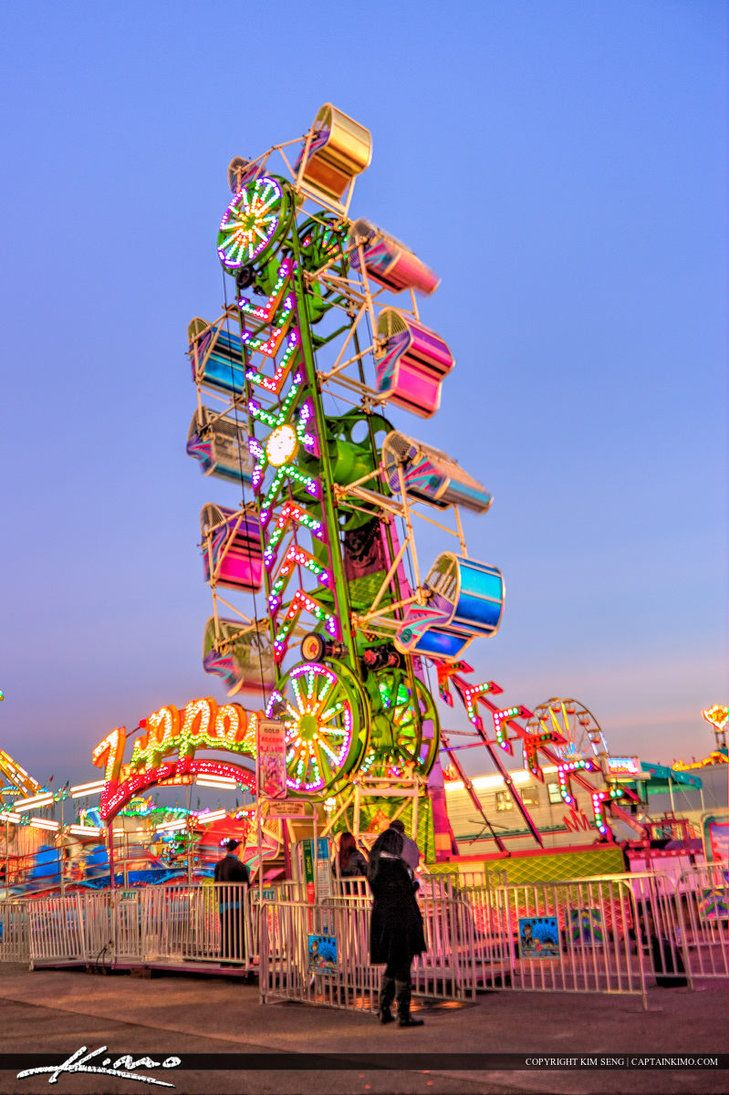 Carnival Rides Fair art | Creative Commons Attribution-Noncommercial-No Derivative Works 3.0 ...