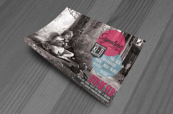 Signature 3rd Edition Flyer Design