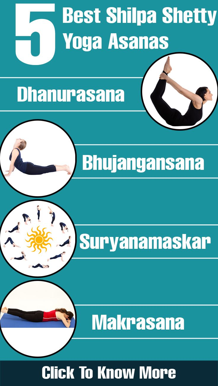 5 Best Shilpa Shetty Yoga Asanas For Good Health