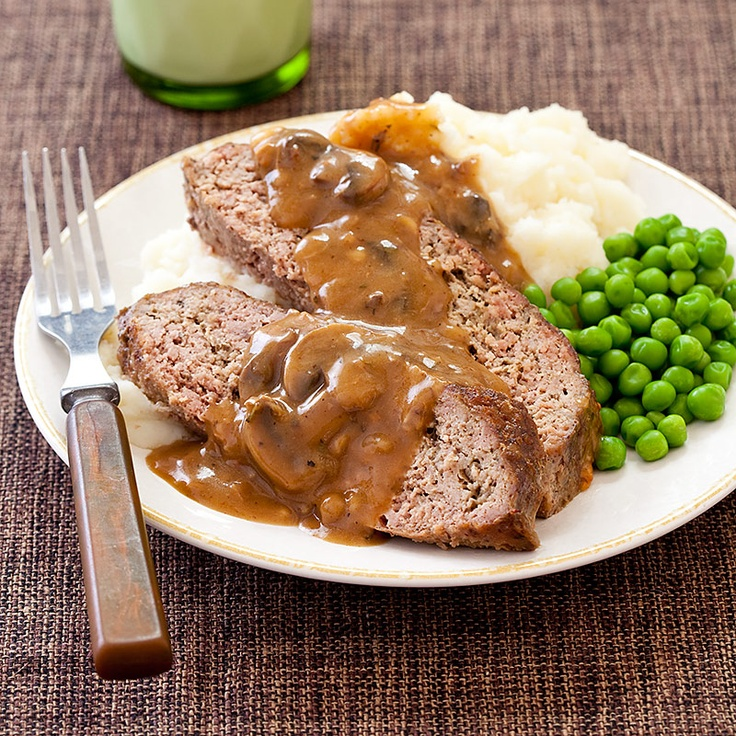 America S Test Kitchen Meatloaf With Mushroom Gravy