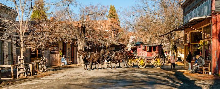 Columbia, California   Historic Gold Rush Town