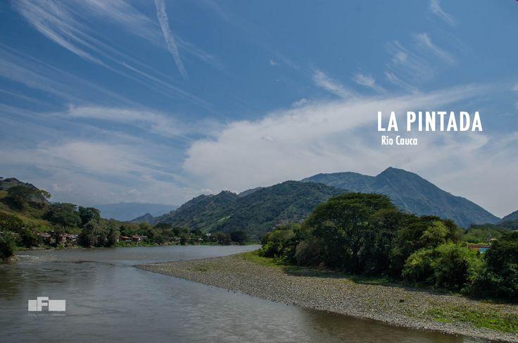 Rio Cauca desde La Pintada. Por: Fredy Castañeda