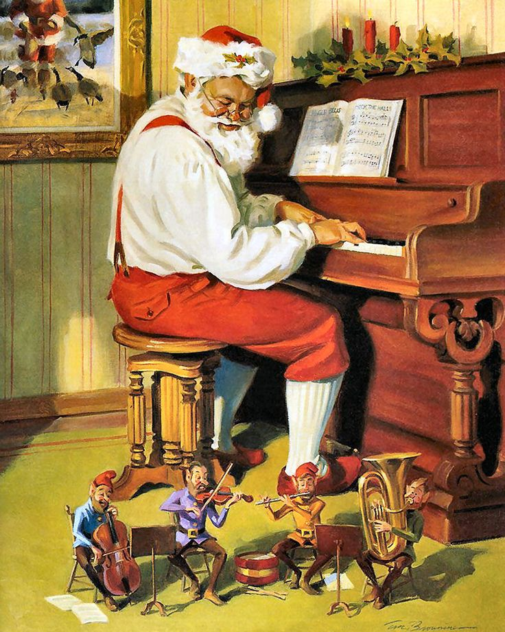 Santa's Time Off by Tom Browning                                                                                                                                                                                 Mais