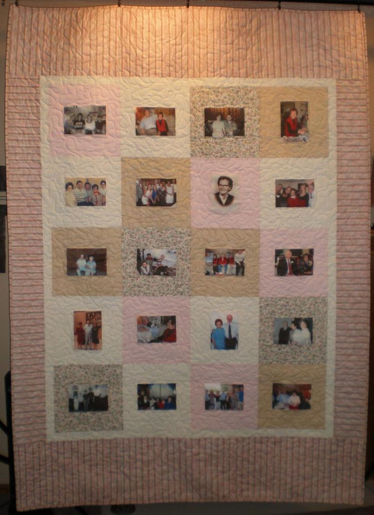 Custom Memory Quilts - Photo Quilts