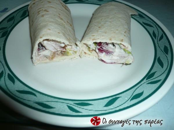 Πανεύκολο σάντουιτς με τόνο! #sintagespareas