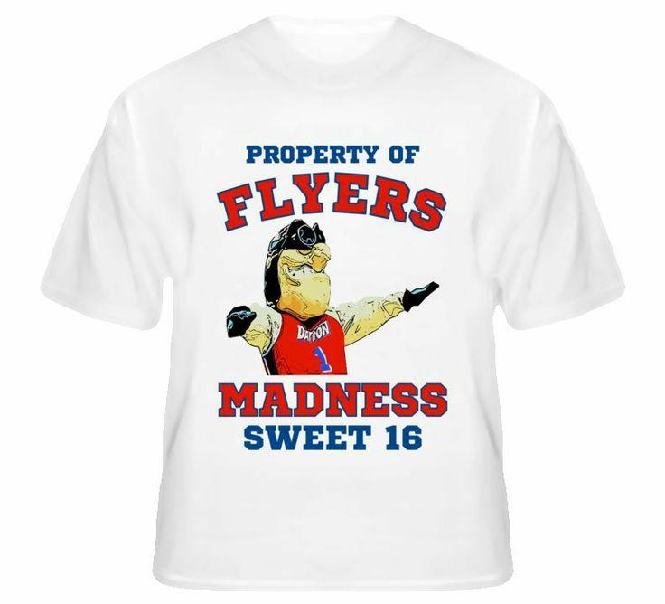 Dayton Flyers Madness Basketball Mascot T Shirt  #sweetsixteen #dayton #flyers #NCAA #marchmadness #daytonflyers