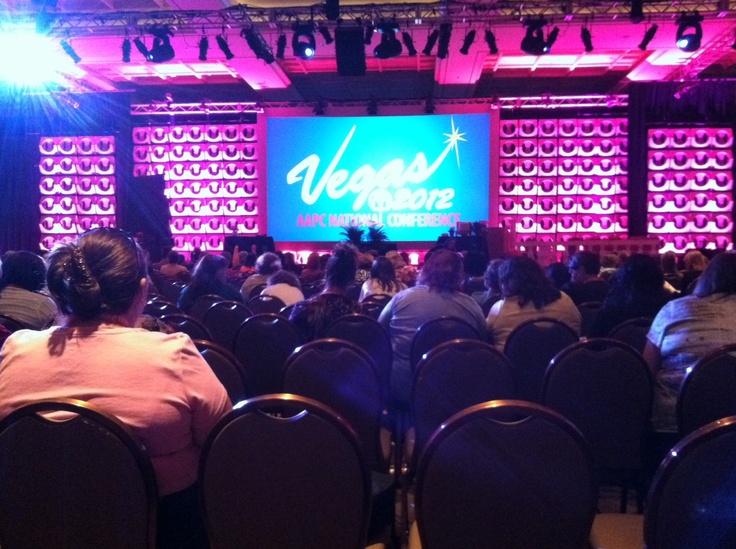 #AAPC in Las Vegas! More photos to come.