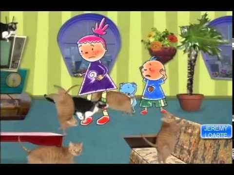 Pinky dinky doo Dia de Lluvia español latino discovery kids