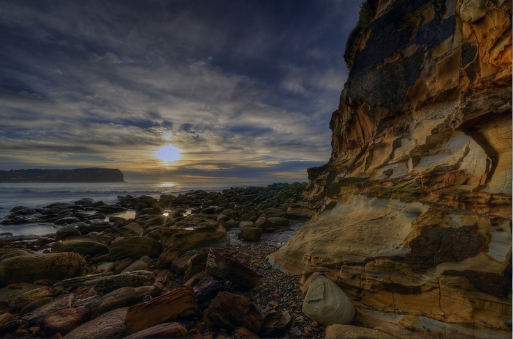 Sunrise at Macmasters Beach. I loved growing up here.