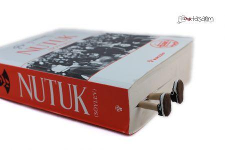 Converse Kitap Ayıracı polimer kil Converse bookmark polymer clay