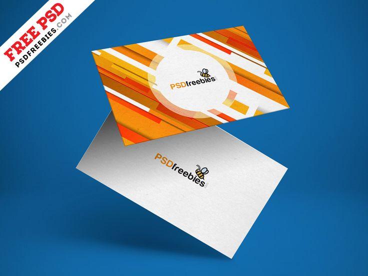 Free Floating Business Card Mockup Psd Business Cards Mockup Psd Business Card Mock Up Free Business Card Mockup