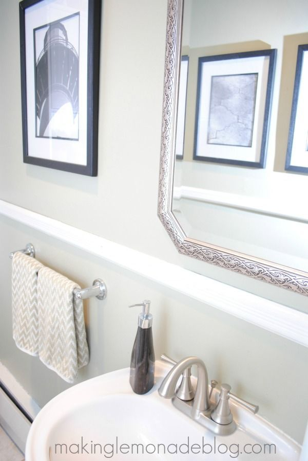 top 25 ideas about easy bathroom updates on pinterest framed bathroom mirrors framing a On easy bathrooms