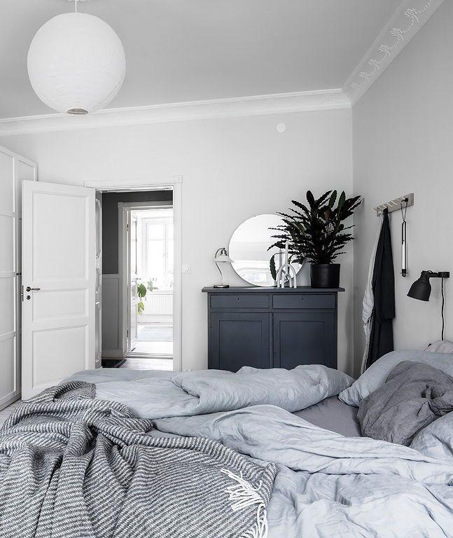 Fresh white bedroom