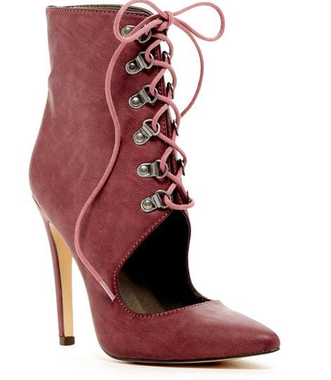 12 Days of Red High Heels: Michael Antonio Lizzie boot