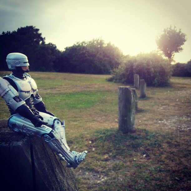 Robocops day off...