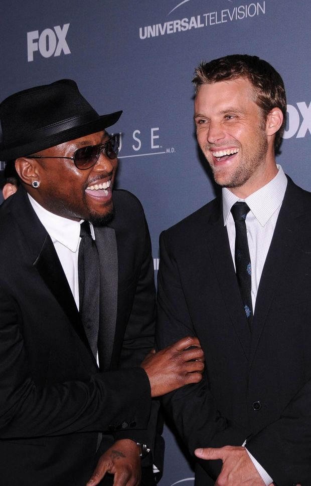 Omar Epps et Jesse Spencer au Series Wrap Party de Los Angeles pour la fête d'adieux de Dr House.