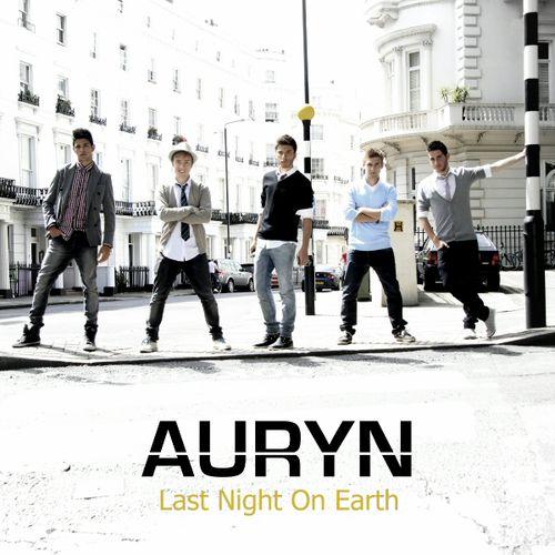 Auryn: Last night on earth (CD Single) - 2011.