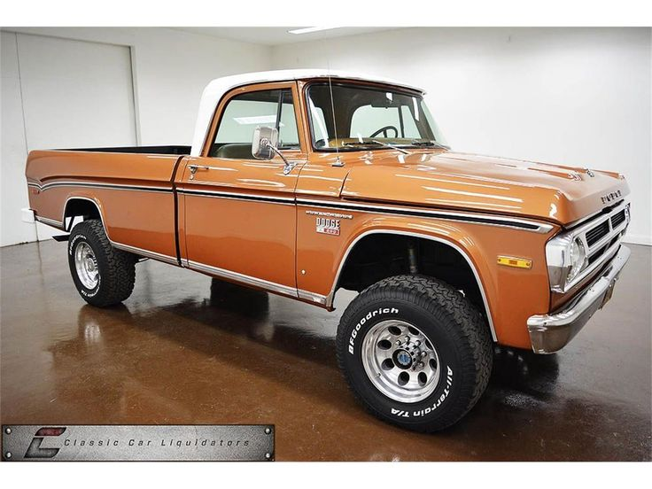 1971 Dodge W200 POWER WAGON 4X4
